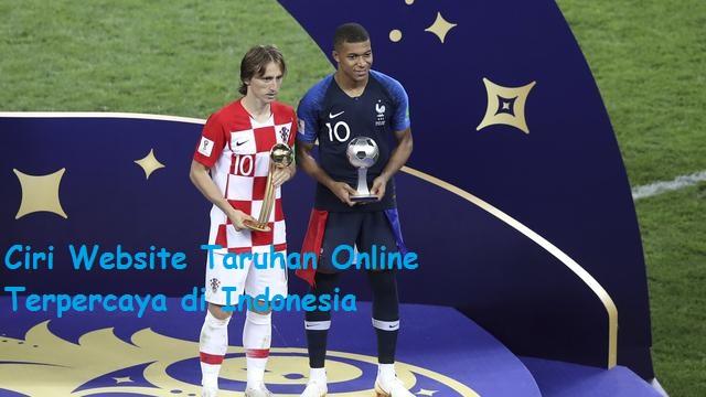 Ciri Website Taruhan Online Terpercaya di Indonesia